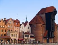 Oldest medieval crane Royalty Free Stock Images