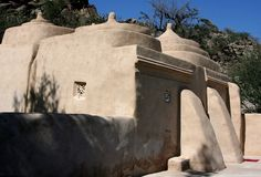 Oldest mosque of uae Stock Image