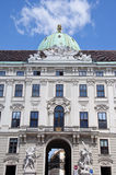 The oldest part of Hofburg palace in Vienna, Austria Stock Photo