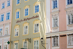 The oldest pharmacy in Salzburg Royalty Free Stock Photography