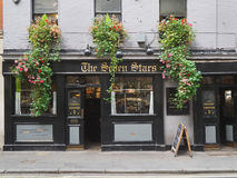 The oldest pub in London Stock Images