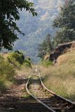 Oldest Railway Track of hills station Stock Photo