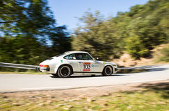 The oldest rally in spain Stock Image