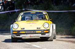 The oldest rally in spain Stock Images