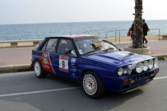 The oldest rally in spain, 2015, 63 Rally Costa Brava. Sporting Rally Champ 2015. Lloret de Mar - Girona. Stock Photo