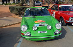 The oldest rally in spain, 2015, 63 Rally Costa Brava. Sporting Rally Champ 2015. Lloret de Mar - Girona. Stock Photography