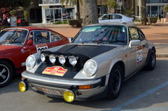 The oldest rally in spain, 2015, 63 Rally Costa Brava. Sporting Rally Champ 2015. Lloret de Mar - Girona. Stock Photos