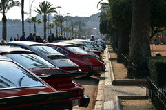The oldest rally in spain, 2015, 63 Rally Costa Brava. Sporting Rally Champ 2015. Lloret de Mar - Girona. Stock Image