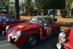The oldest rally in spain, 2015, 63 Rally Costa Brava. Sporting Rally Champ 2015. Lloret de Mar - Girona. Royalty Free Stock Photos