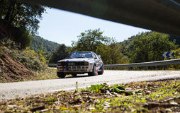 The oldest rally in spain Stock Photography