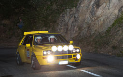 The oldest rally in spain Royalty Free Stock Photos