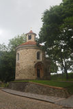 Oldest Rotunda of St. Martin in Vysehrad, Prague stock photography