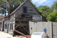 Oldest school in America Stock Image