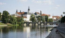 The oldest stone bridge in central Europe royalty free stock image