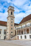The oldest University in Coimbra Royalty Free Stock Image