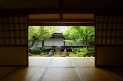 The Oldest Zen Temple Kennin-ji, Its a `five most important Zen temples of Kyoto`. stock image