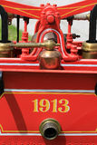 Oldfashion firemans equipment Stock Photo