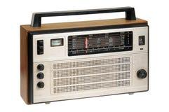 Oldfashioned retro radio Stock Image