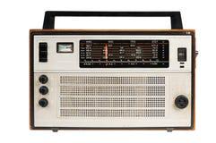 Oldfashioned retro radio Stock Photos