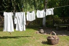 Oldfashioned Underwear royalty free stock image