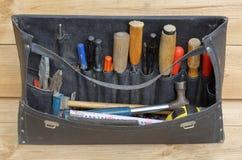 Oldfashions-Werkzeugsatz Stockbild
