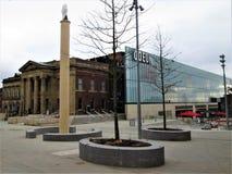 Oldham urząd miasta Obraz Royalty Free