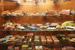 Oldie collection in Shiroi Koibito Park, Sapporo. The Chocolate factory Shiroi Koibito theme park Stock Photos