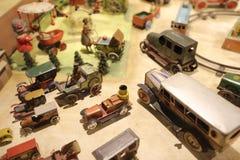 Oldie collection in Shiroi Koibito Park, Sapporo. The Chocolate factory Shiroi Koibito theme park Stock Images