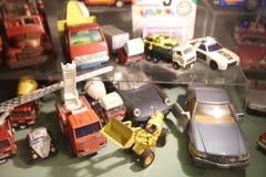 Oldie collection in Shiroi Koibito Park, Sapporo. The Chocolate factory Shiroi Koibito theme park Stock Image