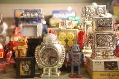 Oldie collection in Shiroi Koibito Park, Sapporo. The Chocolate factory Shiroi Koibito theme park Royalty Free Stock Photo