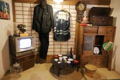 Oldie collection in Shiroi Koibito Park, Sapporo. The Chocolate factory Shiroi Koibito theme park Royalty Free Stock Image