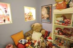 Oldie collection in Shiroi Koibito Park, Sapporo. The Chocolate factory Shiroi Koibito theme park Stock Photo