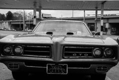 Oldie. GTO Judge '74 Royalty Free Stock Images