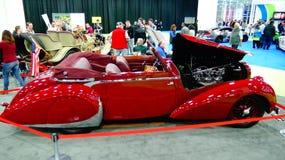 Oldies en el salón del automóvil internacional norteamericano Imagen de archivo libre de regalías