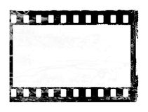 Oldies frame photo. Aged vector illustration of a grunge filmstrip frame Royalty Free Stock Photos