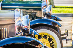Oldies. Retro cars are vehicles that bear characteristics inspired by past cars while still technologically modern. The phrase `retro style` is also used to Stock Photos
