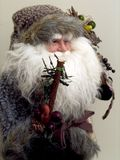Oldman. Christmas oldman stock photos