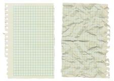 Oldotebook Papier Lizenzfreies Stockfoto