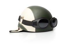 oldschool шлема стоковая фотография rf