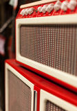 Oldschool Amplifier from the 60ies / 70ies Stock Images