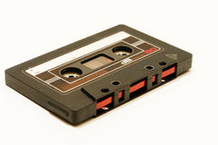 Oldschool de la cinta de la música de Musiccassette Imagen de archivo