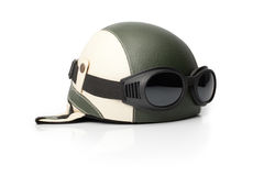 Oldschool Helmet Royalty Free Stock Photography