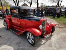 Oldschool mięśnia amerykański samochód Obraz Royalty Free