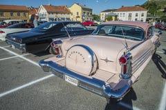 1958年Oldsmobile八十八2个门hardtop 库存照片