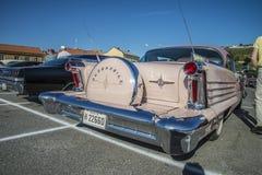 1958年Oldsmobile八十八2个门hardtop 图库摄影