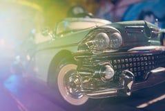Oldsmobile玩具特写镜头 库存图片