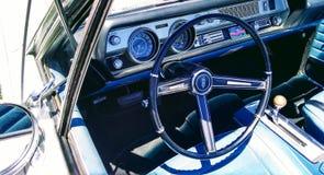 Oldsmobile驾驶舱 免版税库存照片