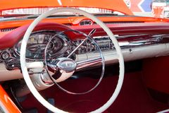 1957年Oldsmobile 免版税库存照片