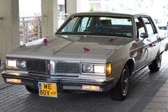 Oldsmobile bil, beautifully återställd royaltyfria bilder