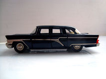 Oldsmobile 1960. Black oldsmobile with chromed features Stock Photos